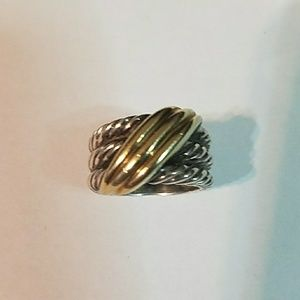 David Yurman Ring 4.5